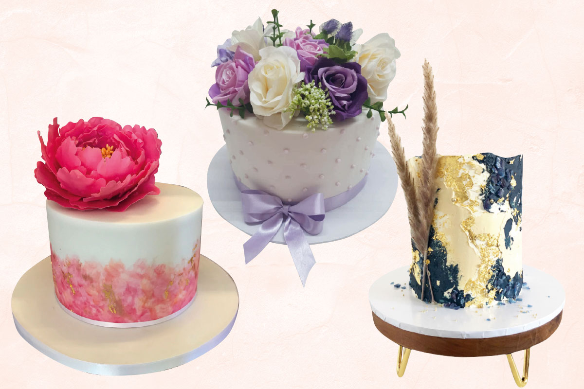Wedding cakes by Gorgeously Sweet Cake Emporium, Jappacakes and Ruby and Pearl Cake Art