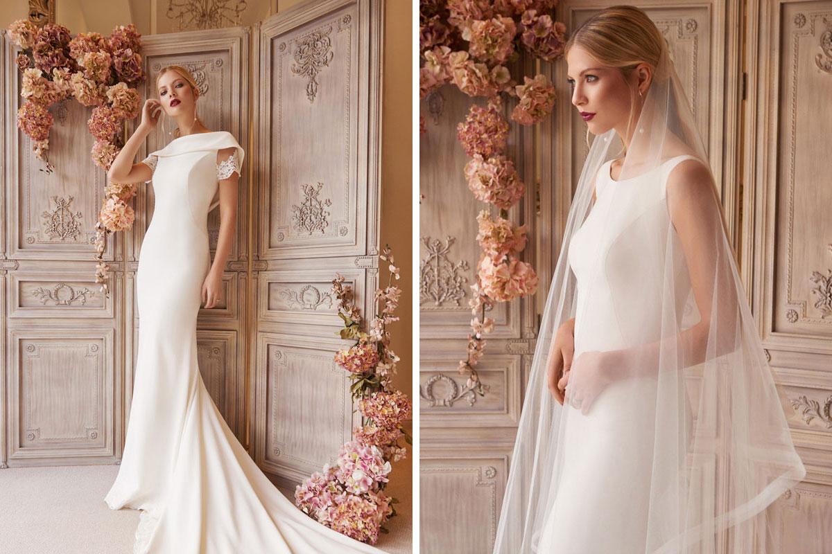 Wedding dresses by Joyce Young Design Studios