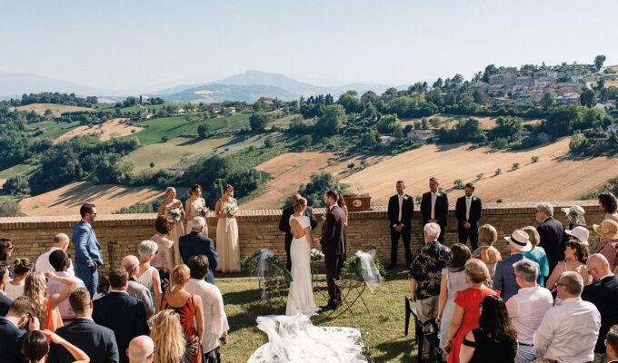 Petritoli wedding village Italy