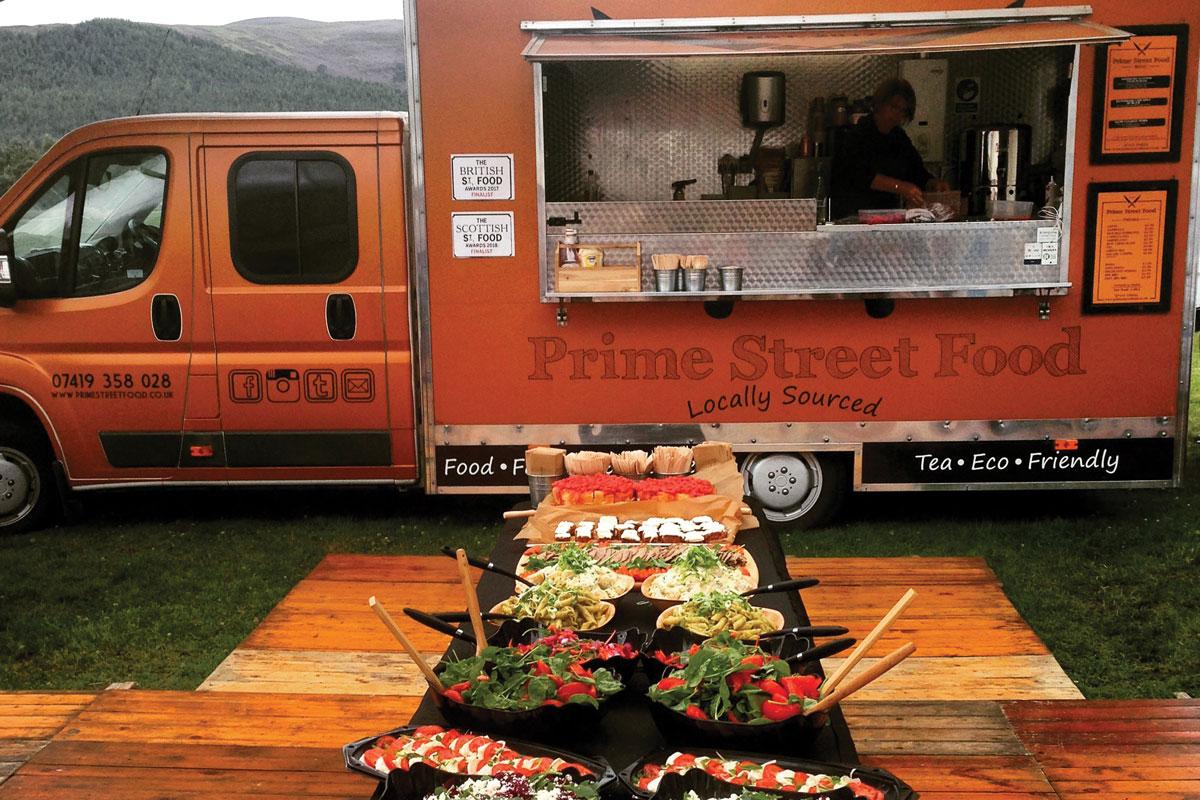 Prime Street Food food truck