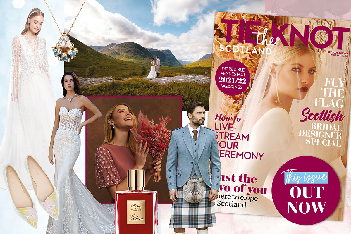 Tie the Knot Scotland issue 71 feature montage
