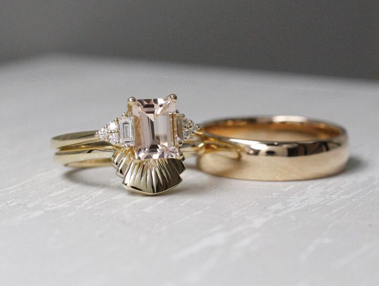 wedding bands from Brazen Jewellery