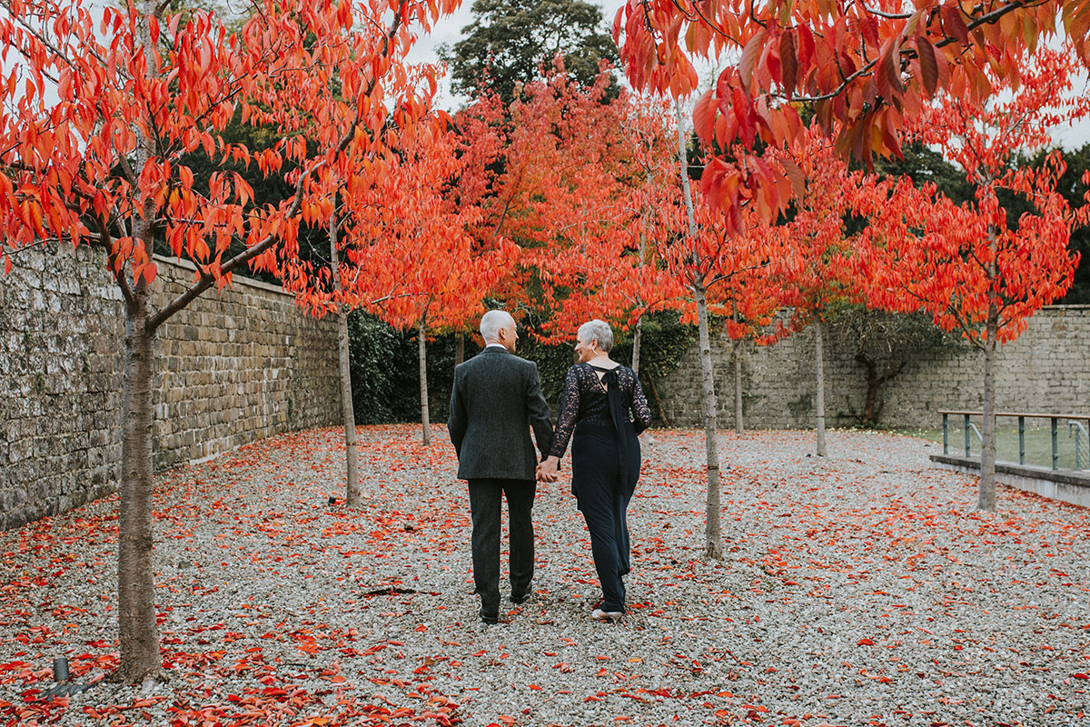 Iris Art Photography autumn newlyweds at Norton House Hotel