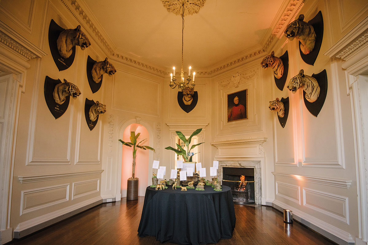 Tiger Room at Hopetoun House