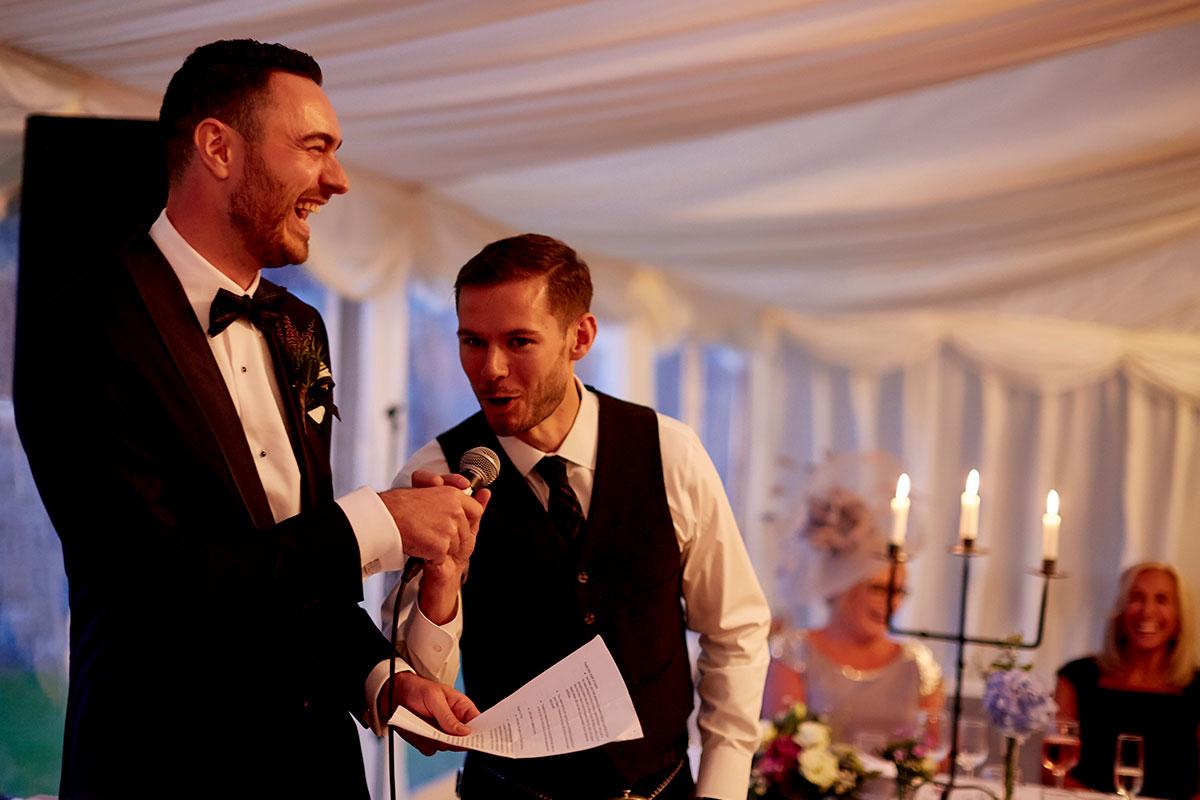 grooms wedding speech Story of Love Photography