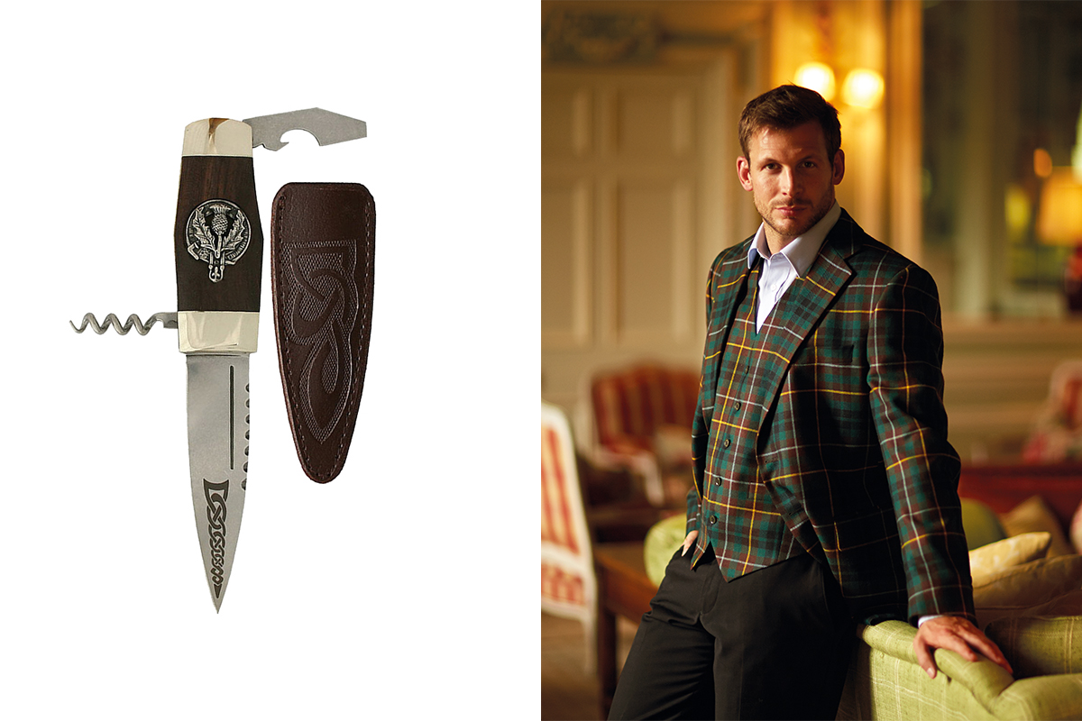 Slanj sgian dubh and ScotlandShop.com suit