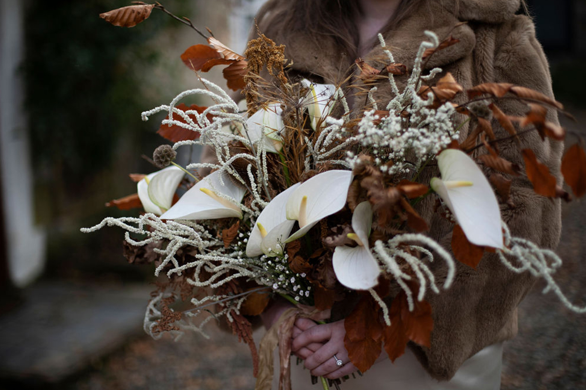 autumnal bouquet by To A Mountain Daisy
