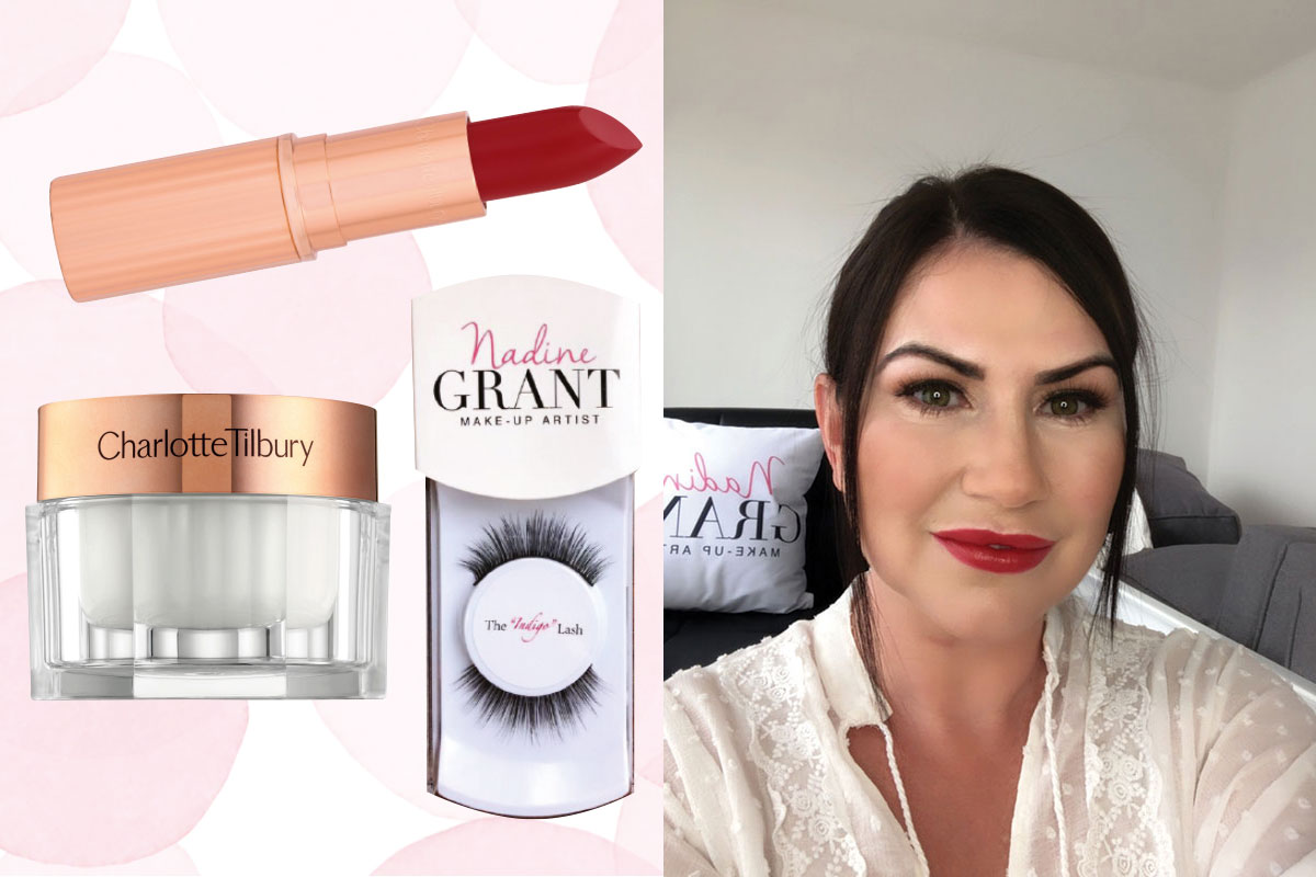 Nadine Grant Makeup Artist and recommended beauty products