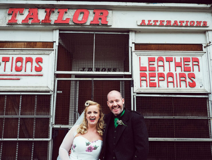 Rhona and Donnie Leith wedding John Sinclair Wedding Photography