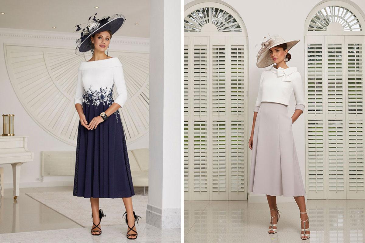 Two Veni Infantino dresses from Sheila Conn Ladies Fashions in Biggar