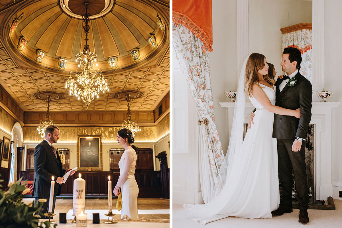 Elopements at Trades Hall of Glasgow and Cluny Castle in Aberdeenshire