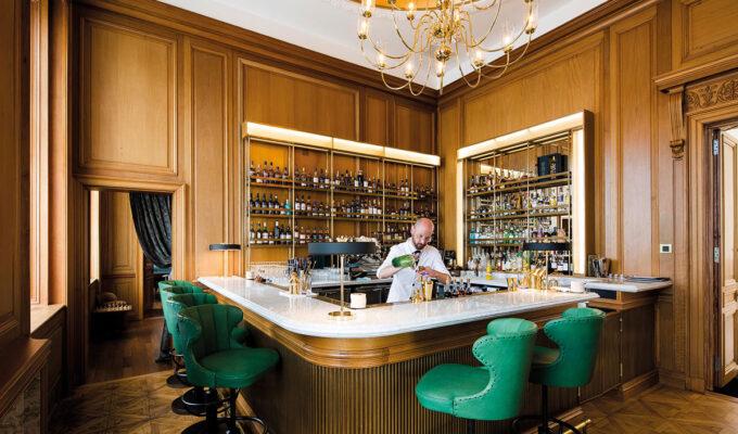 Bar person at The Register Club at Cheval The Edinburgh Grand
