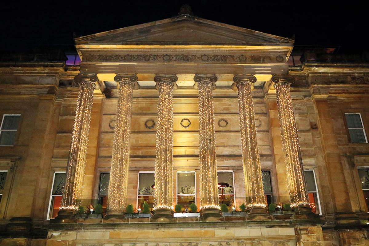 Citation Glasgow wedding venue exterior