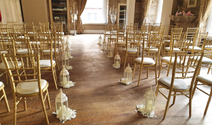 Citation Glasgow wedding venue ceremony seating
