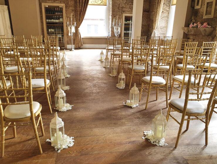 Citation Glasgow wedding venue ceremony seating