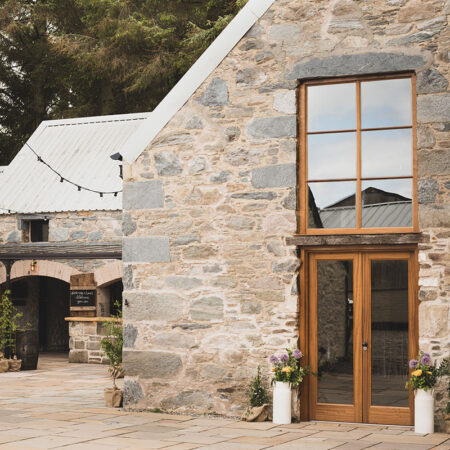 Courtyard at Cardney Steading in Perthshire