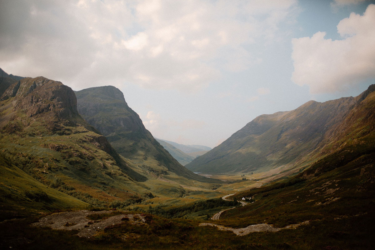 view of Glen Coe