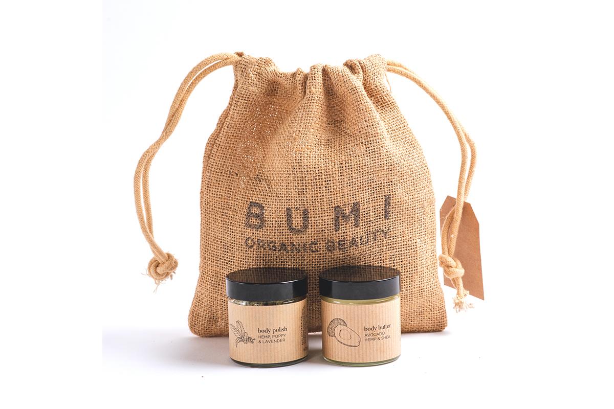Hemp & Shine Bundle by Bumi Organic Beauty