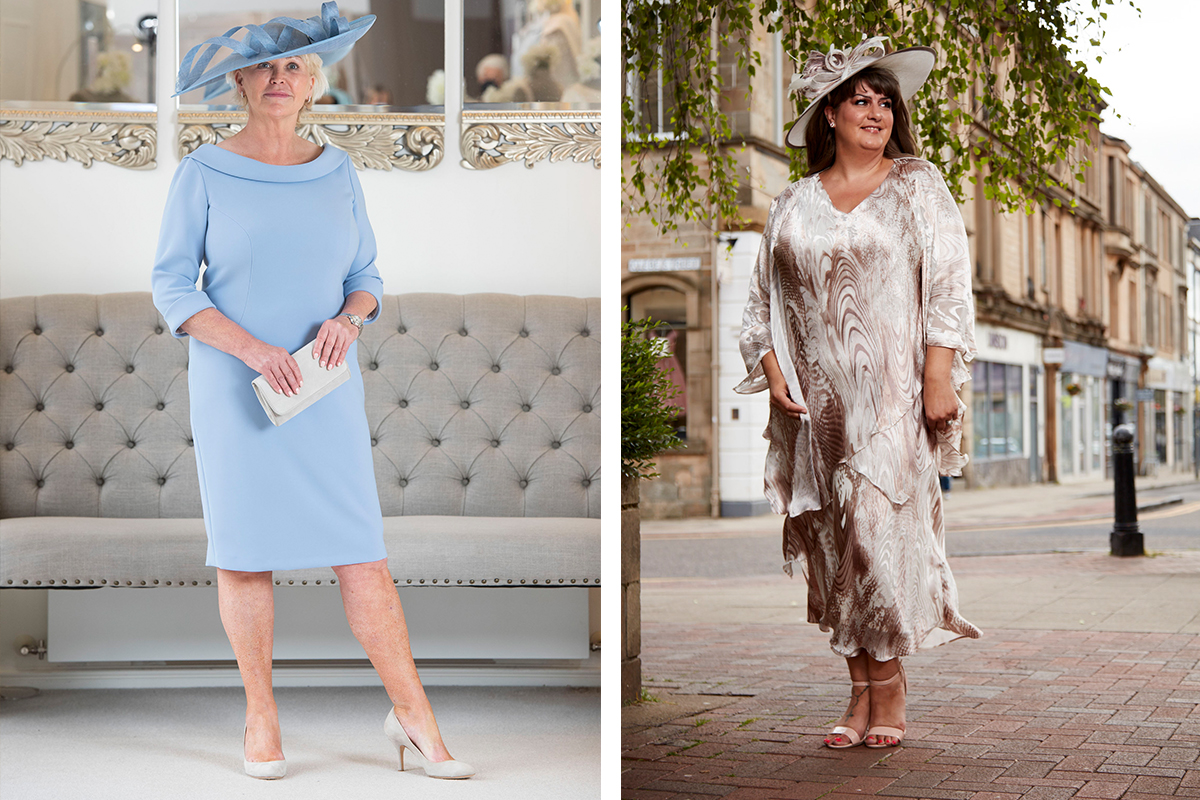 Occasionwear outfits from Frox of Falkirk and Joyce Young Design Studios shot on location