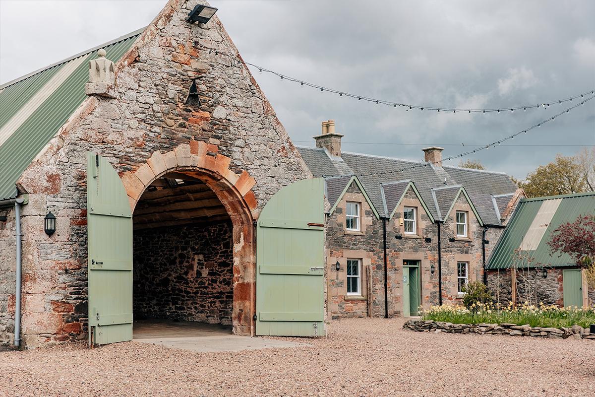 Wedderlie House's converted stables