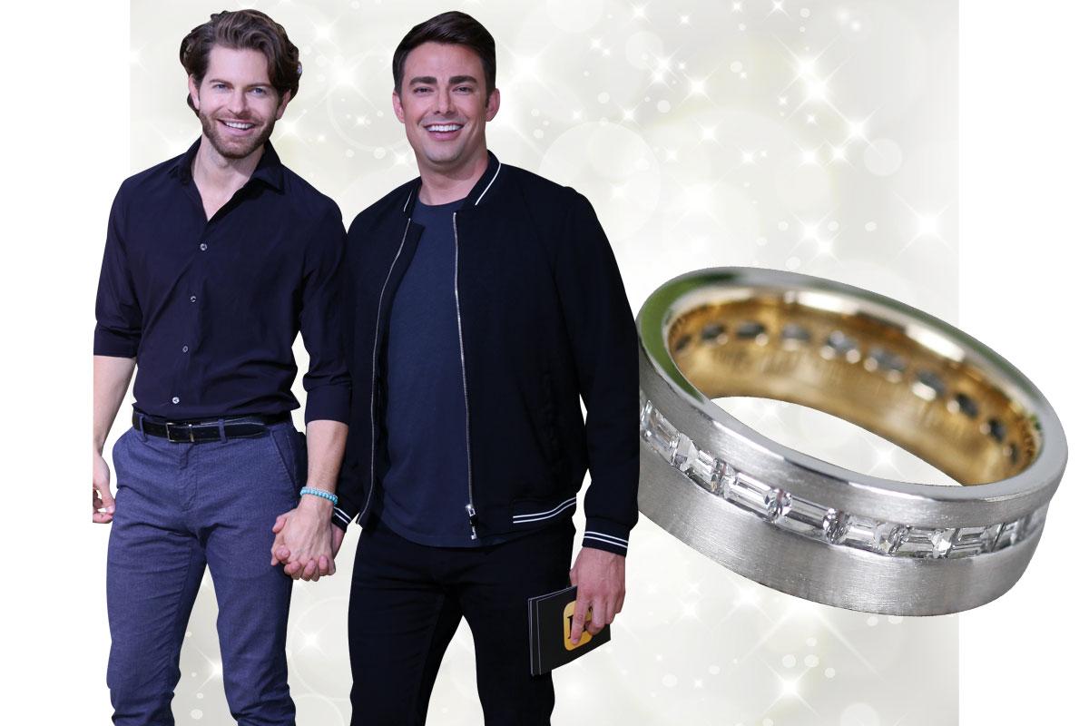 jonathan bennet engagement ring