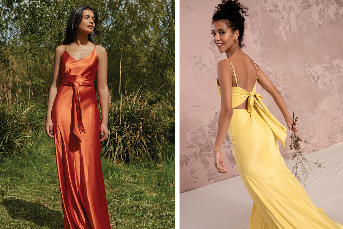 Bridesmaid dresses from Nola London and Rewritten