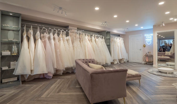 Dream Brides renovated store