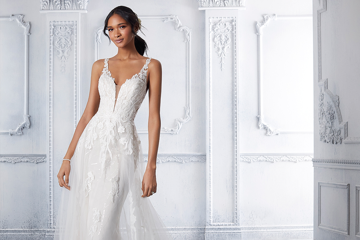 Calanthe gown by Morilee at Dream Brides