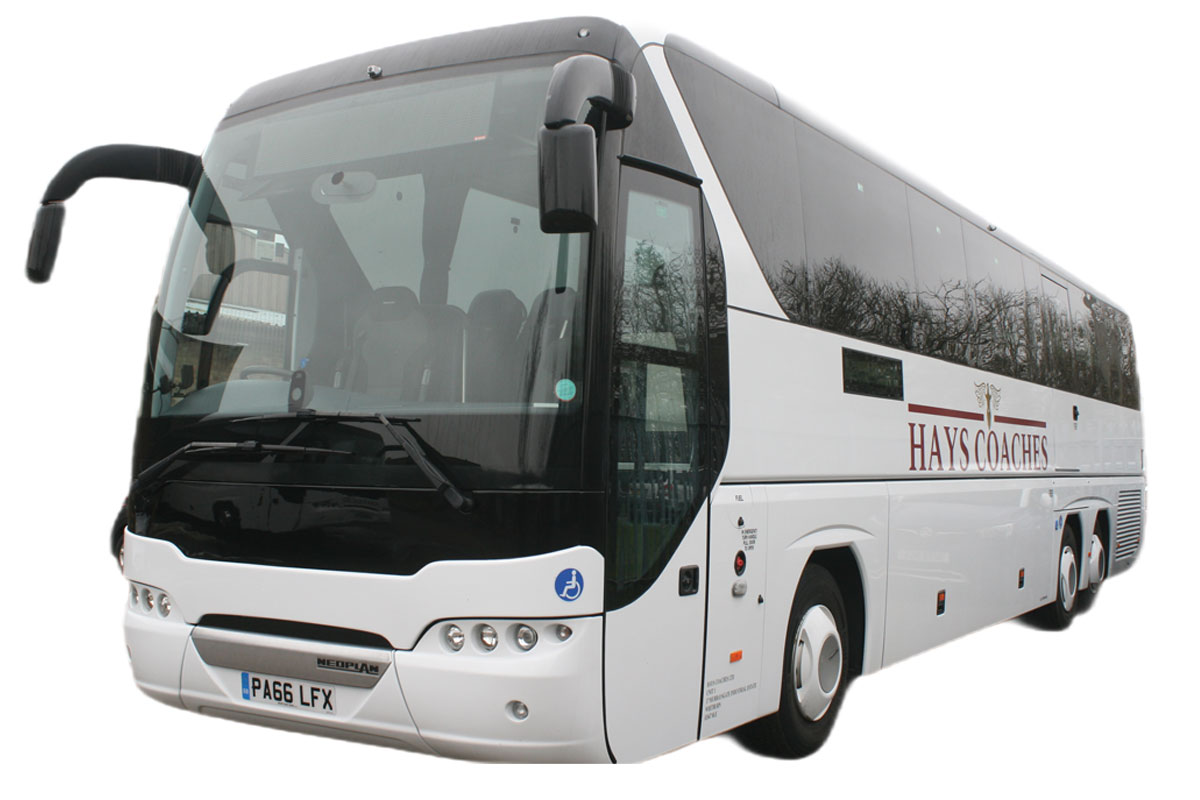 One of Hays Coaches' busses