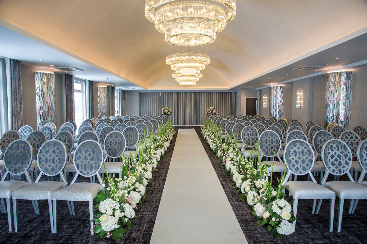 Ceremony room at Lochside House Hotel and Lodges