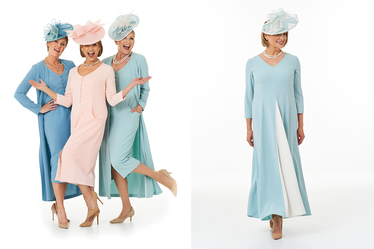 Pastel outfits by Joyce Young