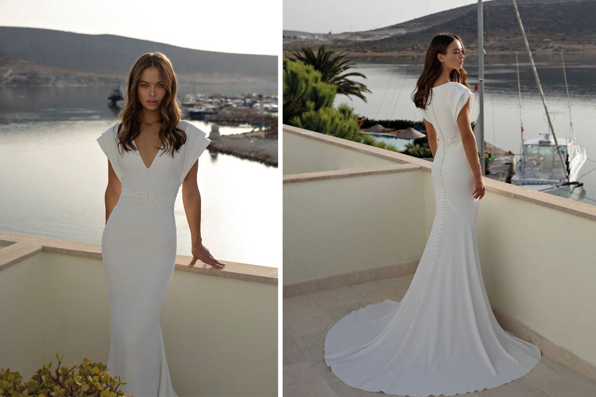 Modeca gown from Kathleen Richmond Couture