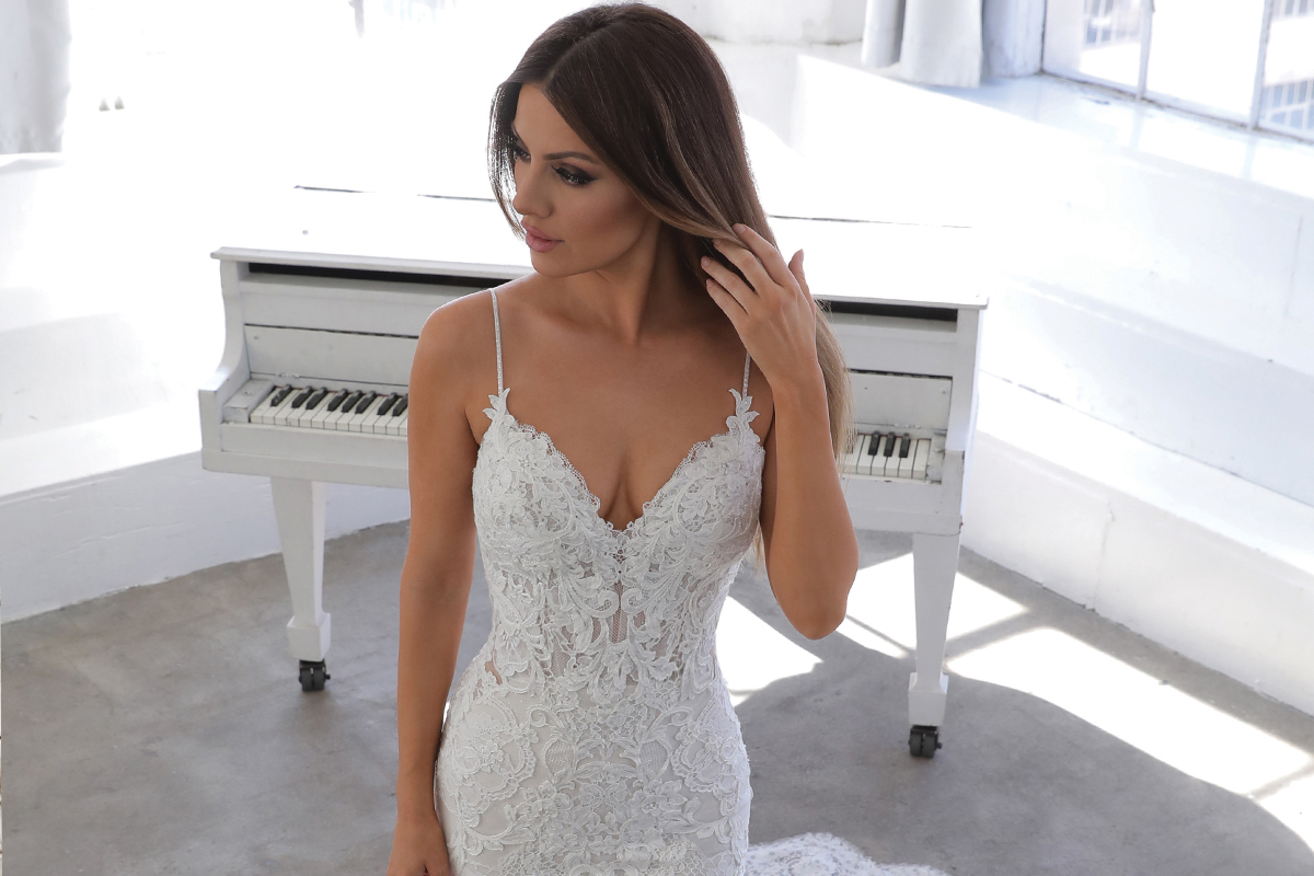 Nini gown by Blue by Enzoani available from Kudos Bridal Boutiques (Dunfermline)
