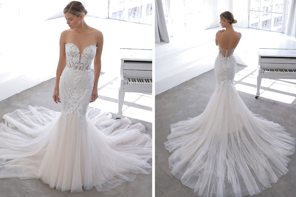 Nevaeh gown by Blue by Enzoani at Kudos Bridal Boutiques (Dunfermline)