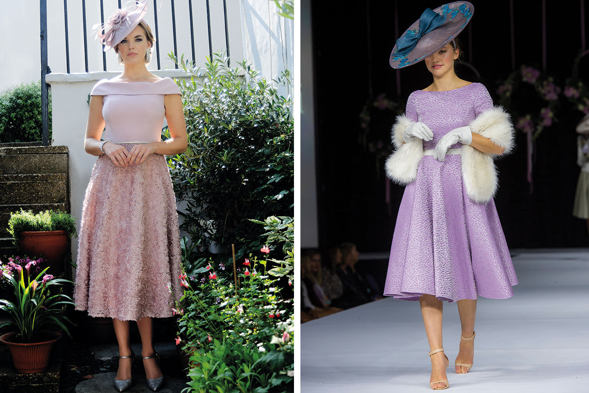 Dresses by Mia Bella and Rinaldo Girasoli