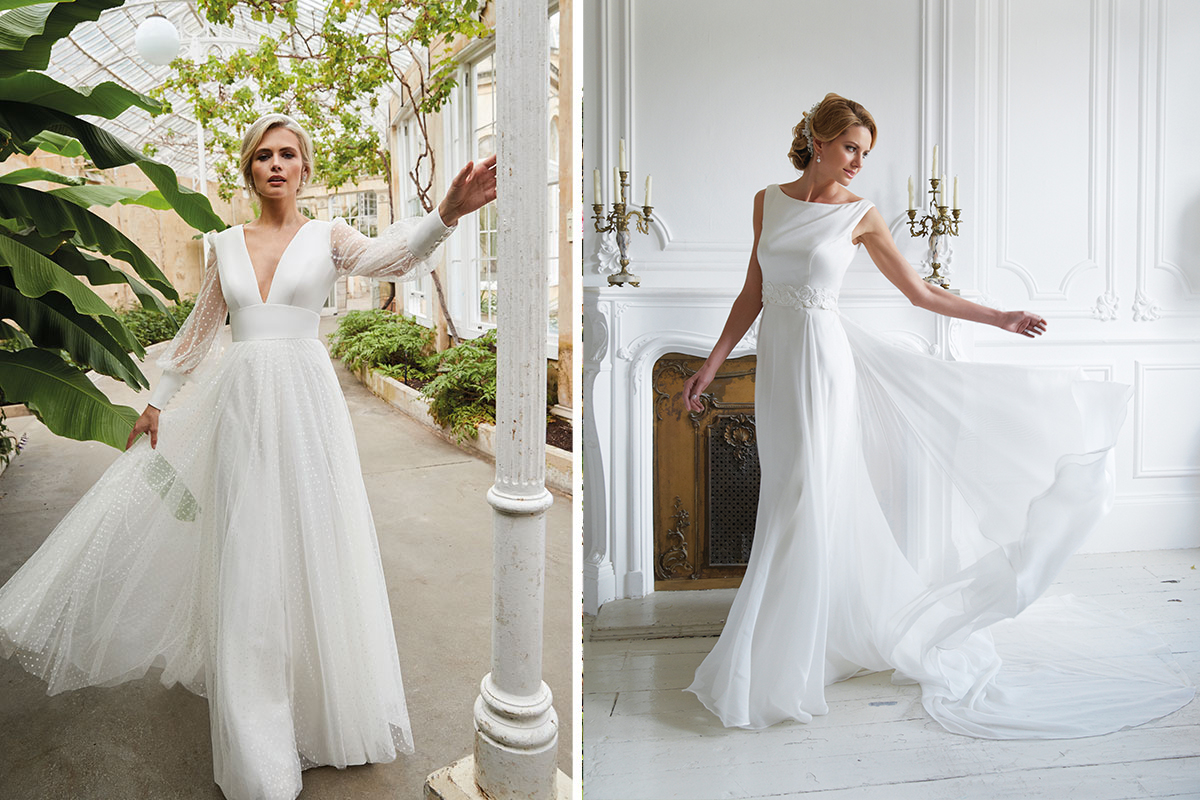 Gowns by Joyce Young and Sassi Holford