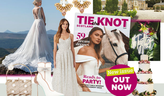 Tie the Knot Scotland issue 74 feature montage